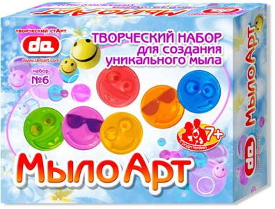 Набор ДТ мыло АРТ Смайлы 10006 купить оптом и в розницу