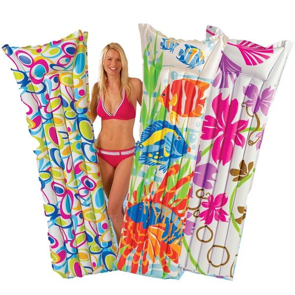 Матрас пляжный 183*69 см Fashion Intex (59720) купить оптом и в розницу