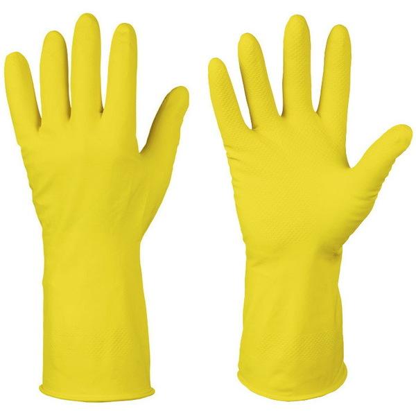 Перчатки хозяйственные латексные S (ЭКОНОМ) CELESTA купить оптом и в розницу