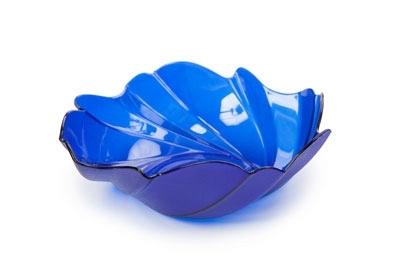 Фруктовница Акри малая (синий п/прозр.)  *90 купить оптом и в розницу