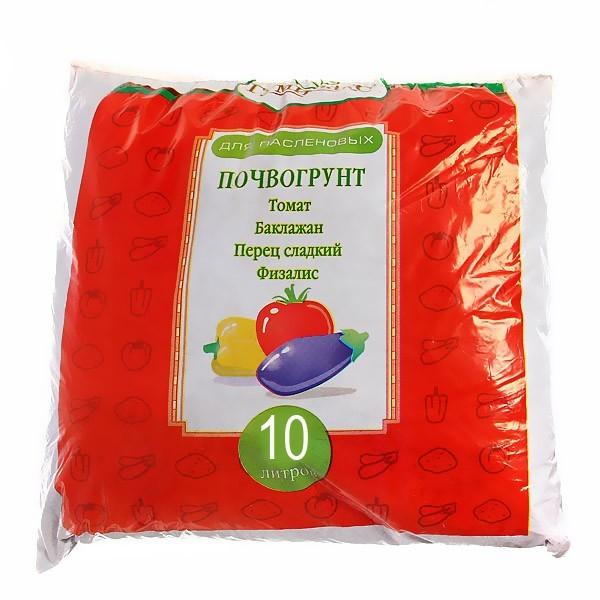 Гумимакс почвогрунт для пасленовых 10 л (Р) купить оптом и в розницу