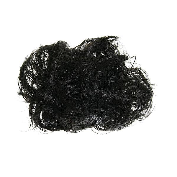 Заколка-краб ″Модная прическа-пучок″ черный цв h-17 633-1 купить оптом и в розницу