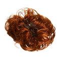 Заколка-краб ″Модная прическа-пучок″, цвет коричневый h-17см купить оптом и в розницу