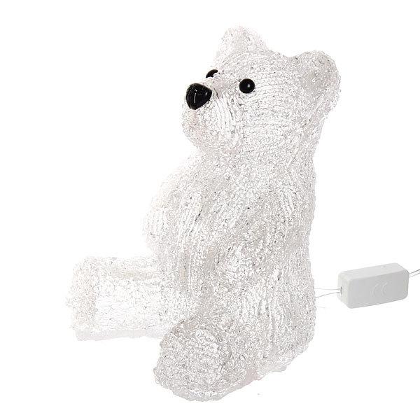 Фигура светодиодная 16х13х18см ″Медведь″ купить оптом и в розницу