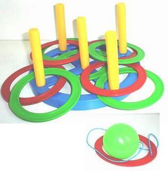 Игра Набрось Кольцо+поймай шарик 2в1 40010 Плейдорадо /25/ купить оптом и в розницу