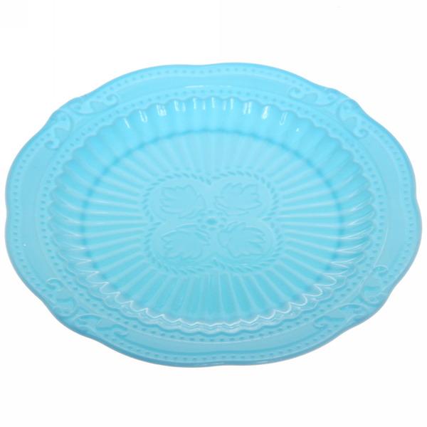 Тарелка пластиковая ″Орнамент″ 15см МИКС купить оптом и в розницу
