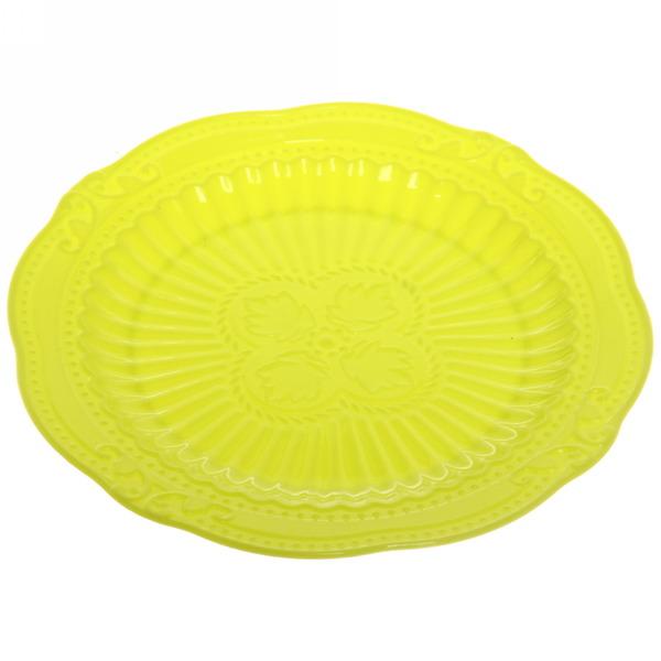 Тарелка пластиковая ″Орнамент″ 15см микс цвет купить оптом и в розницу