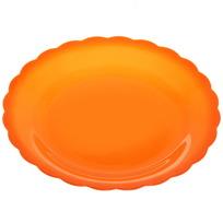 Тарелка пластиковая ″Апельсин″ 14,5см купить оптом и в розницу