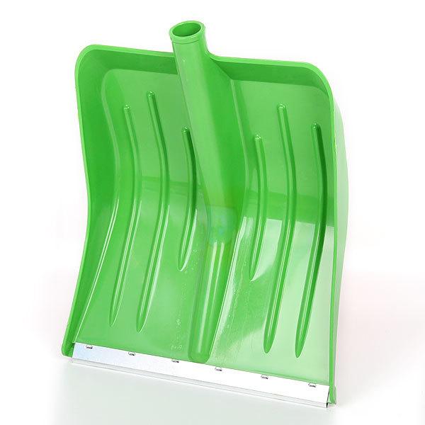 Лопата снеговая 360х420 ″Малыш″ (d 32 мм) зеленая 69998 купить оптом и в розницу