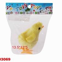Игрушка заводная 2011-48 Цыпленок в пак. купить оптом и в розницу