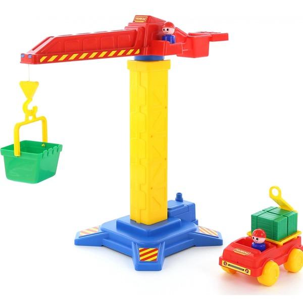 Кран башенный №1 + автомобиль58195 /П-Е/ /2/ купить оптом и в розницу
