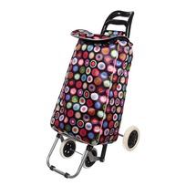 Тележка хозяйственная с сумкой ST-841EB (96*36*33см, 4 колеса, грузоподъемность до 30 кг.) купить оптом и в розницу