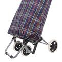 Тележка хозяйственная с сумкой ST-841FA (96*36*33см, 4 колеса, грузоподъемность до 30 кг.) купить оптом и в розницу