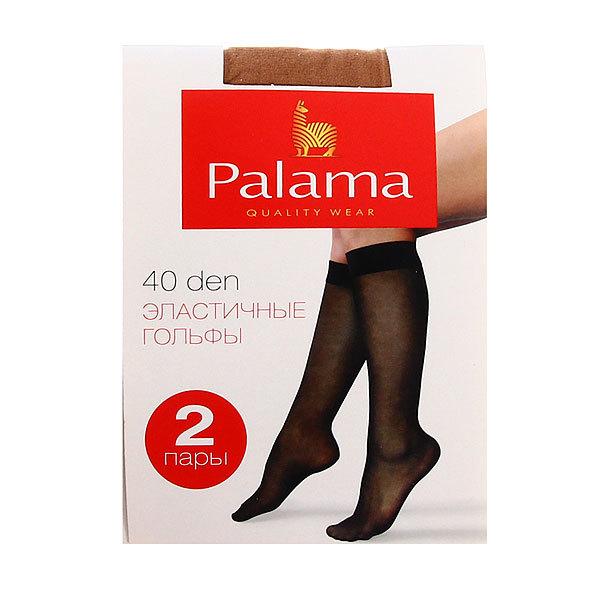 Гольфы женские 40 den PALAMA, 2 пары, цвет телесный (97% полиамид, 3% эластан) купить оптом и в розницу