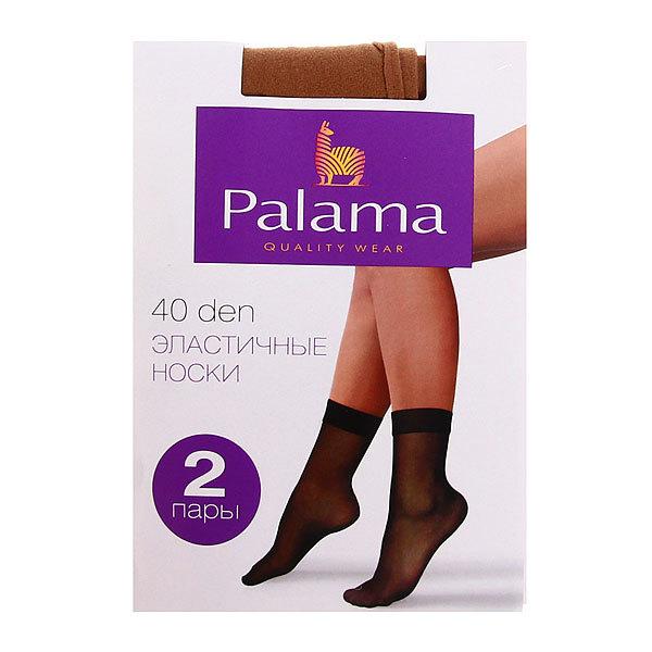 Носки женские 40 den PALAMA (2 пары), натур, 97% полиамид, 3% эластан купить оптом и в розницу