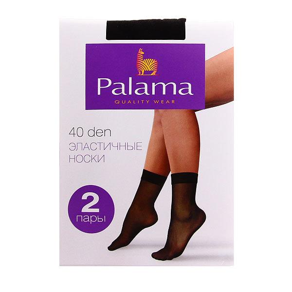 Носки женские 40 den PALAMA (2 пары) цвет чёрный купить оптом и в розницу