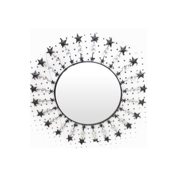 Зеркало настенное в кованой раме d-62см GF12-245 купить оптом и в розницу
