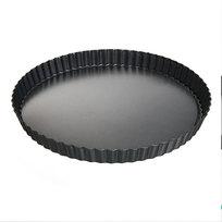 Форма для выпечки металлическая 30*3 см с антипригарным покрытием купить оптом и в розницу