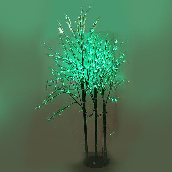 Световое дерево LED 190см ″Бамбук″, 3 ветви, 8 режимов купить оптом и в розницу