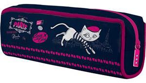Пенал объемный 1отдел.пуст.PROFF Kitties in the Cities 21*8*4 см купить оптом и в розницу