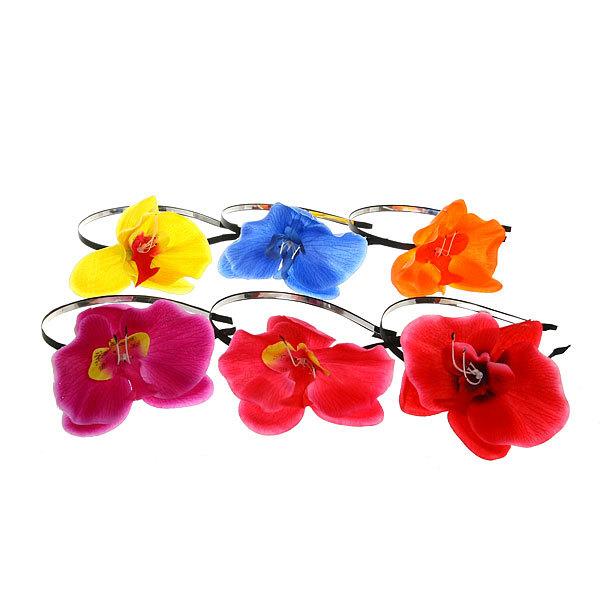 Ободок для волос ″Орхидея″, цвет микс купить оптом и в розницу
