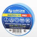 Изолента Safeline ПВХ 19/25м синий (9374) купить оптом и в розницу