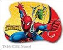 Доска для пластилина А5+ Человек паук фигурная 280*200мм купить оптом и в розницу