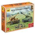 Сб.модель 5200 Танк Великие противостояния Тигр против Ис-2 купить оптом и в розницу