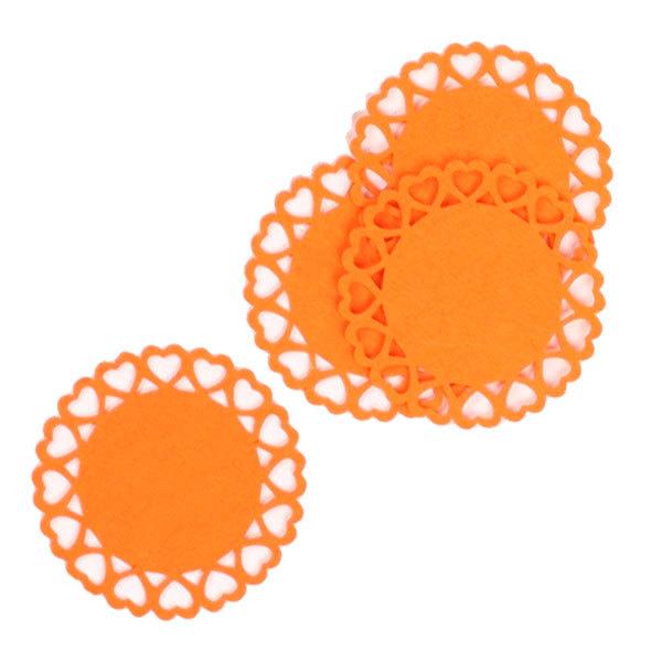 Подставка под кружку в наборе 4 шт 12 см Круг купить оптом и в розницу