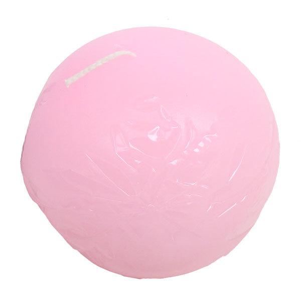 Свеча ″Розовый шар″, диам. 7 см купить оптом и в розницу