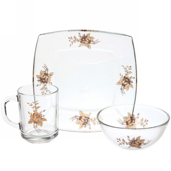Набор посуды для завтрака ″Золотая роза″ 1 купить оптом и в розницу