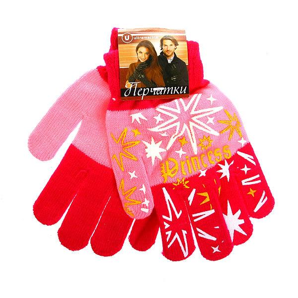 Перчатки молодежные ″Принцесса″ цвет в ассортименте h-17см купить оптом и в розницу
