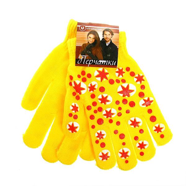 Перчатки молодежные ″Звезды″ цвет в ассортименте h-17см купить оптом и в розницу