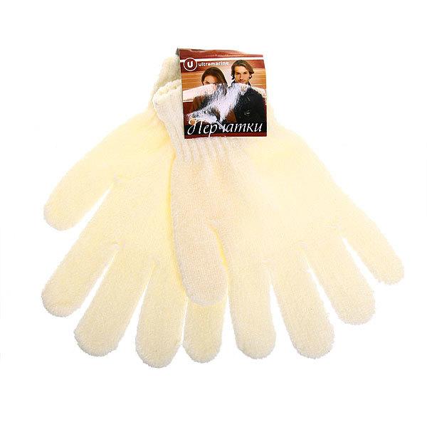 Перчатки женские ″Зимушка″ под велюр плотные, белый цв.852-1 купить оптом и в розницу