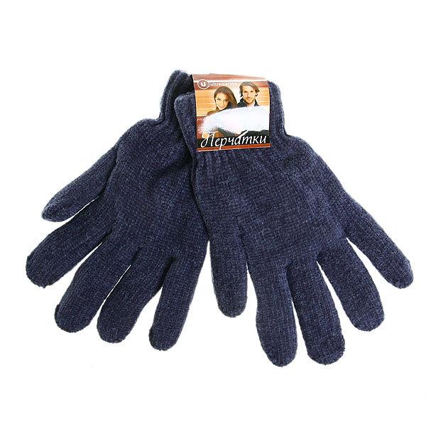 Перчатки под велюр плотные утепленные ″Зимушка″ цвет серый, h-20см купить оптом и в розницу