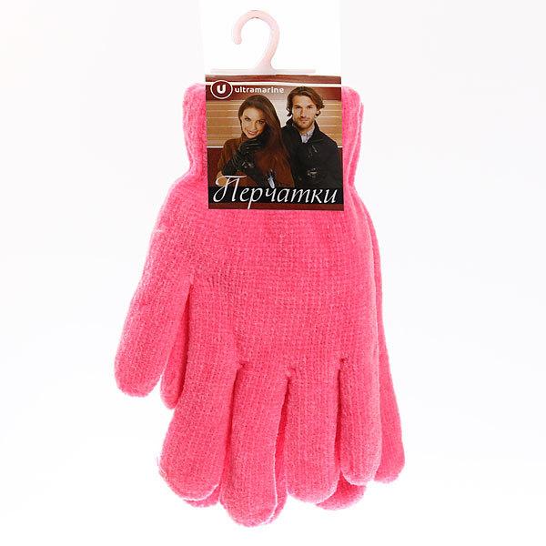 Перчатки под велюр плотные утепленные ″Зимушка″ цвет розовый, h-20см купить оптом и в розницу