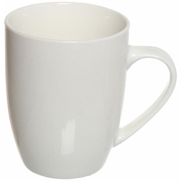 Кружка керамическая 300мл ″Белая″ F10 купить оптом и в розницу