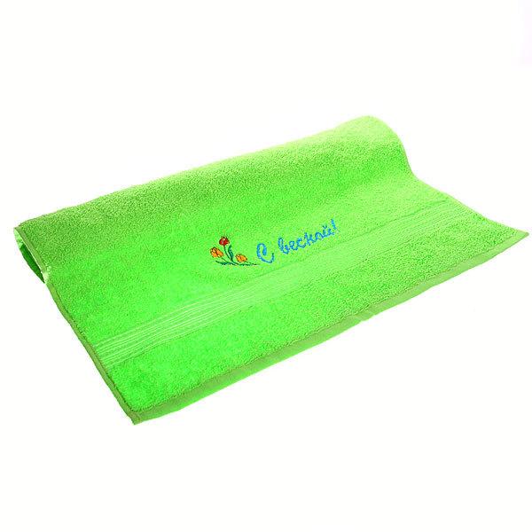 Махровое полотенце 50*90см с вышивкой ЭК90В купить оптом и в розницу