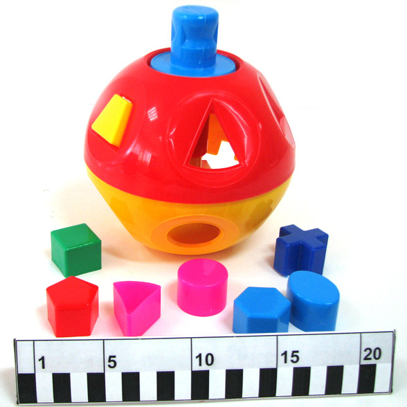 Логич.игрушка Шар дидактический N-061 купить оптом и в розницу