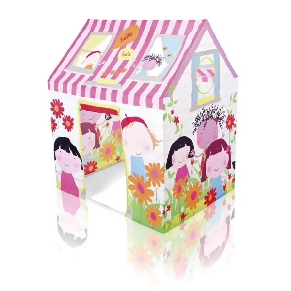 Детский игровой домик-палатка 112*84*132см Intex купить оптом и в розницу