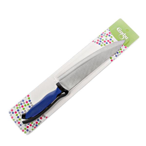 Нож кухонный 20см с резиновой ручкой купить оптом и в розницу