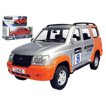 Модель  УАЗ Патриот спорт 30191 1:34 купить оптом и в розницу