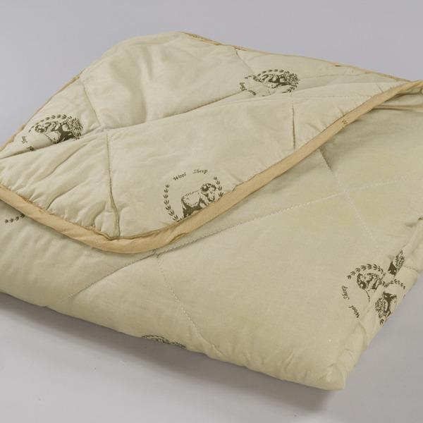 Одеяло Евро 220х240 шерсть овечья п/э в чемодане арт.121 Миромакс  купить оптом и в розницу