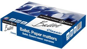 Бумага д/ксерокопий А4, Ballet Classic, Светогорск, 500л. купить оптом и в розницу