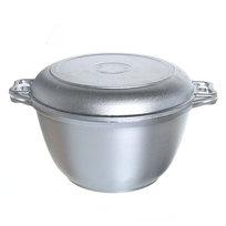 Казан 4 л литой алюминий с крышкой-сковородой КМ-к44 купить оптом и в розницу