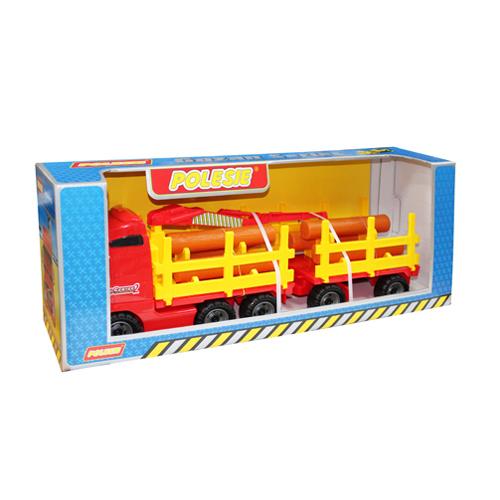 Автомобиль лесовоз с прицепом в коробке П-Е /1/ купить оптом и в розницу