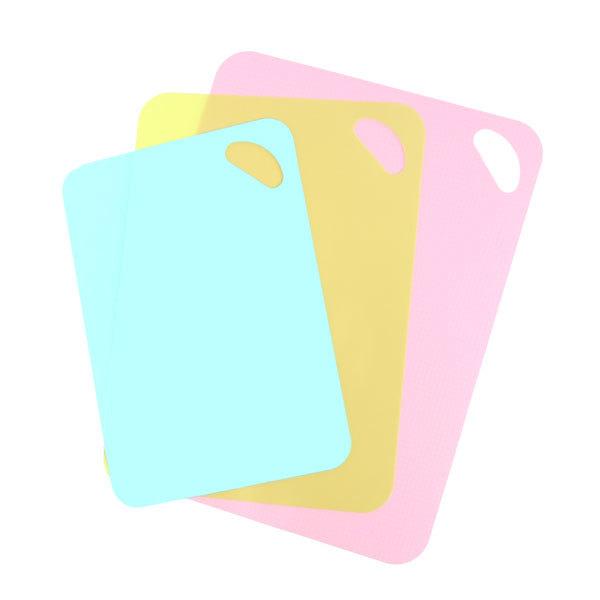 Доска разделочная пластиковая в наборе 3шт (38*29см,34*25см,30*21см) RR-6209 купить оптом и в розницу
