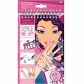 STYLE ME UP Блокнот наклейки+трафареты Потрясающие ручки 1471 купить оптом и в розницу