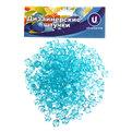 Украшение декоративное ″Кристаллы″ 100гр голубые купить оптом и в розницу