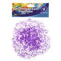 Украшение декоративное ″Кристаллы″ 100гр фиолетовые купить оптом и в розницу